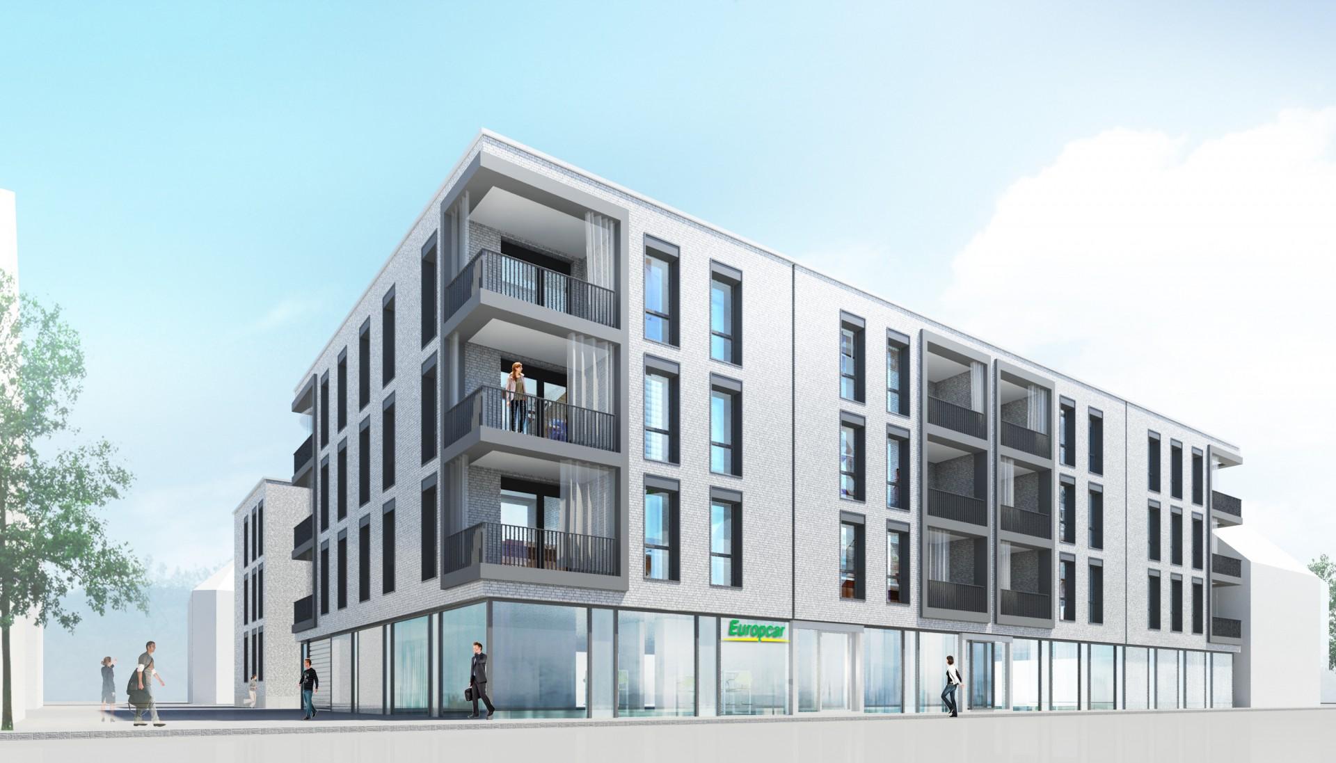 Spatenstich des neuen Wohn- & Geschäftshauses