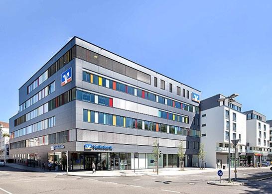 """Neues Büro- und Stadthaus """"Quartier F"""""""