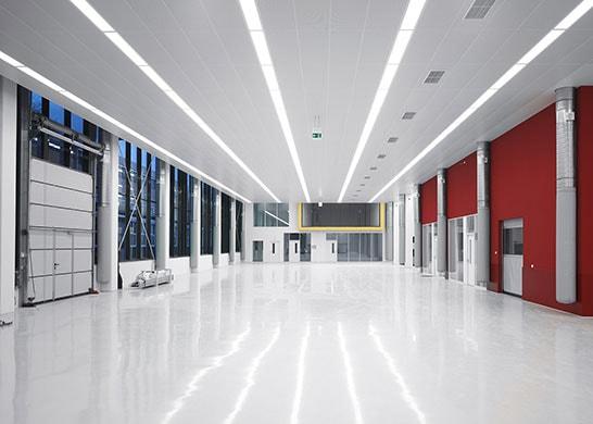 Varta - Produktionshalle mit Bürotrakt in Ellwangen