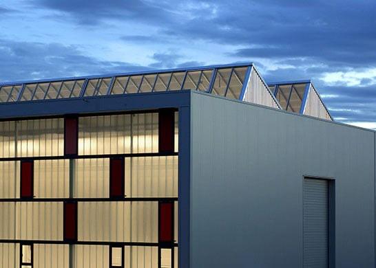 Weisser - Produktionshalle mit Bürotrakt in Neresheim